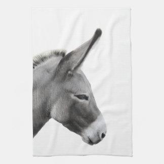 Donkey Head in Profile Towel