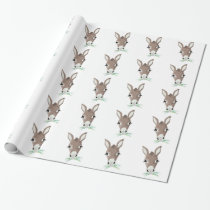 Donkey Head Wrapping Paper