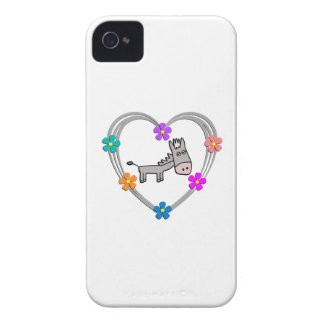 Donkey Heart iPhone 4 Cover
