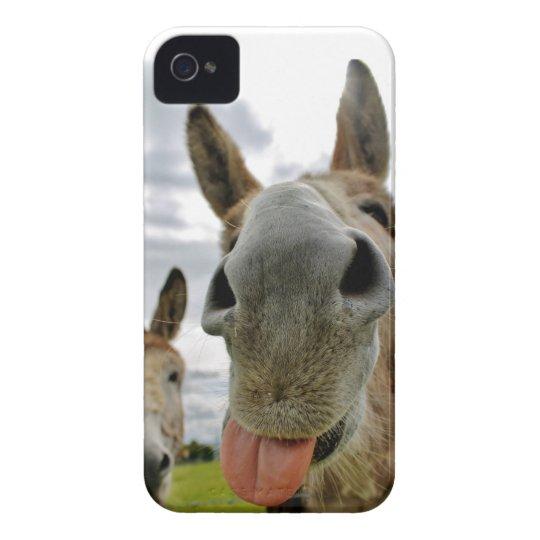 Donkey Humour iPhone 4 Case-Mate Case