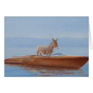 Donkey in a Riva 2010 Card