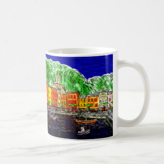 donkey in Portofino, Italy Coffee Mug