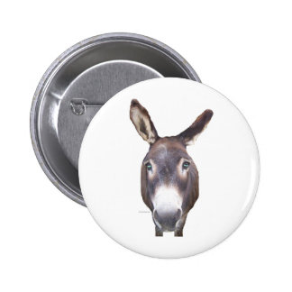 Donkey In Your Face 2 Inch Round Button