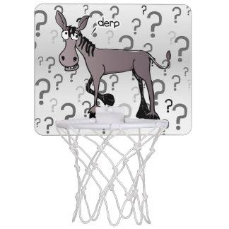 Donkey interrogation derp mini basketball hoop