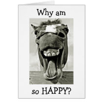 """DONKEY IS """"HAPPY"""" THAT """"YOU ARE MY """"DAD"""" CARD"""