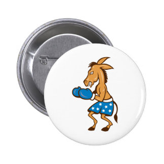 Donkey Jackass Boxer Victory 2 Inch Round Button