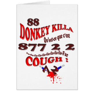 donkey killa card