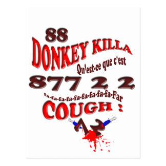 donkey killa postcard