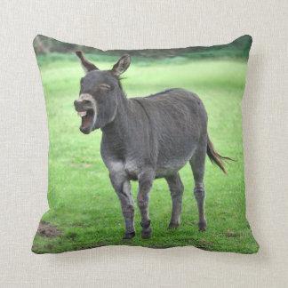 Donkey Laugh Pillow