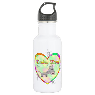 Donkey Lover Stainless Steel Water Bottle