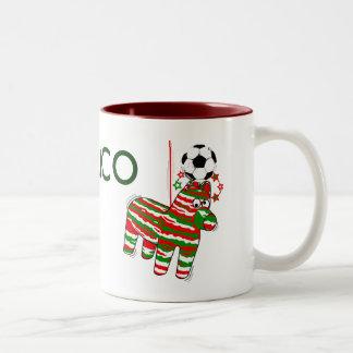 Donkey Mexican football style mexico mug