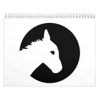Donkey moon calendar
