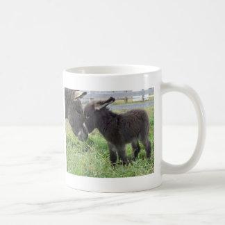 donkey classic white coffee mug