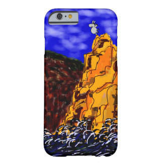 donkey on cliff barely there iPhone 6 case