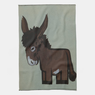Donkey or Burro Template Towel