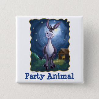 Donkey Party Center Button