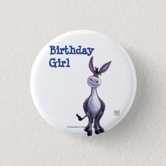 Donkey Party Center Pinback Button