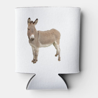Donkey Photograph Design Can Cooler