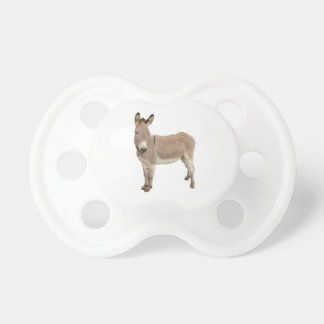 Donkey Photograph Design Pacifier