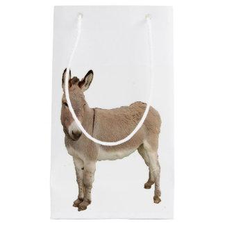 Donkey Photograph Design Small Gift Bag