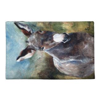 Donkey Portrait Travel Accessories Bag