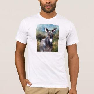 Donkey Portrait Men's Tshirt