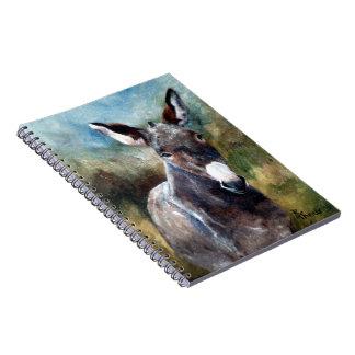 Donkey Portrait Notebook