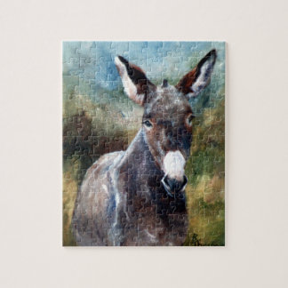 Donkey Portrait Puzzle