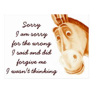 Donkey_ Postcard
