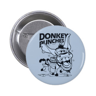 Donkey Punches 2 Inch Round Button