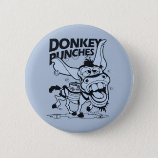 Donkey Punches Pinback Button