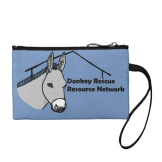Donkey Rescue Resource Network Accessories Coin Purse