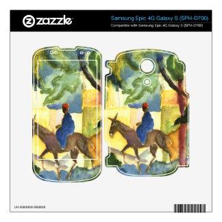 Donkey Rider by August Macke Skin For Samsung Epic