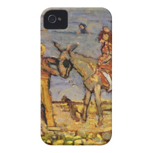 Donkey Rider by Maurice Prendergast iPhone 4 Covers