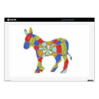 "Donkey Rock - American Elections Votes 2012 17"" Laptop Skin"