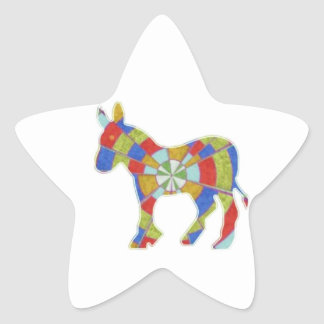 Donkey Rock - American Elections Votes 2012 Star Sticker