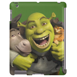 Donkey, Shrek, And Puss In Boots