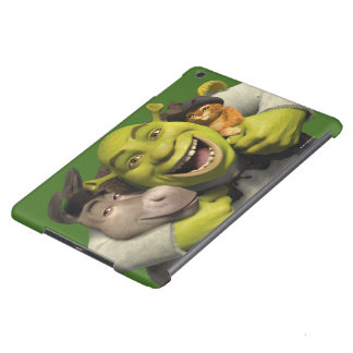Donkey, Shrek, And Puss In Boots iPad Air Cover
