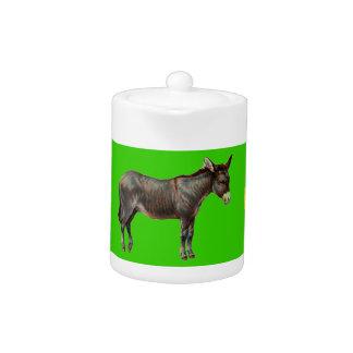 Donkey Teapot