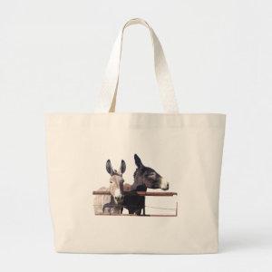 Donkey tote bag bag