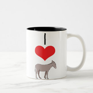 donkey Two-Tone coffee mug