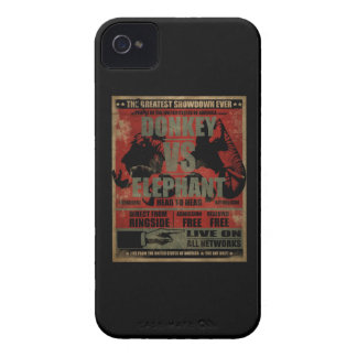 Donkey vs. Elephant Case-Mate iPhone 4 Case