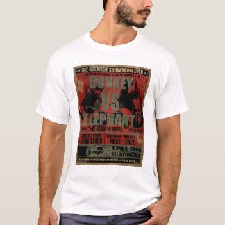 Donkey vs. Elephant T-Shirt