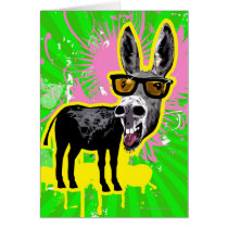 Donkey Wearing Sunglasses