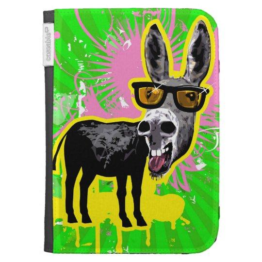 Donkey Wearing Sunglasses Kindle Case
