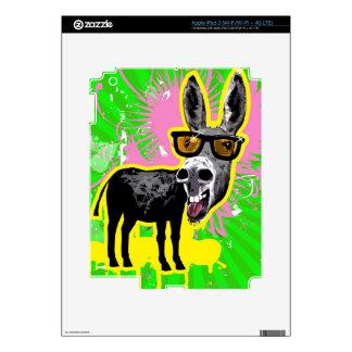 Donkey Wearing Sunglasses Skin For iPad 3