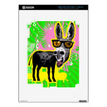 Donkey Wearing Sunglasses Skin For iPad 3
