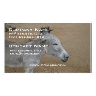 Donkey with a Mohawk Business Card