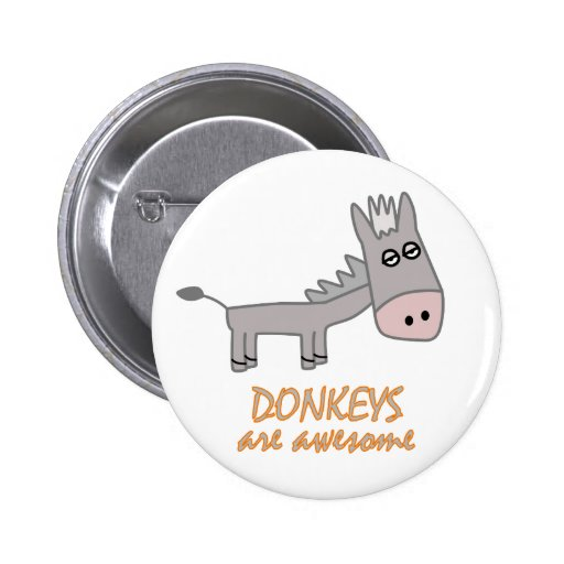 Donkeys are Awesome Pin