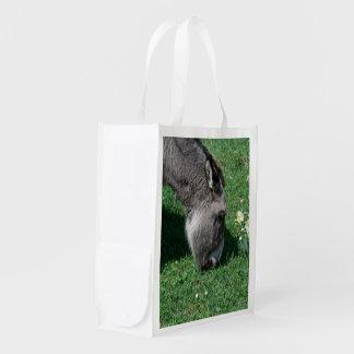 Donkeys Don't Eat Wild Daffodils Grocery Bag